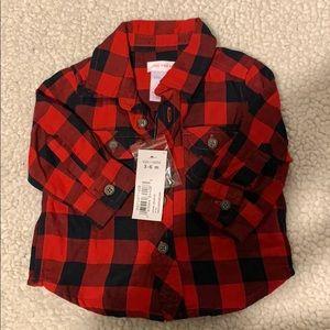 Joe Fresh- Dress shirt Lumber Jack- NEW WITH TAGS
